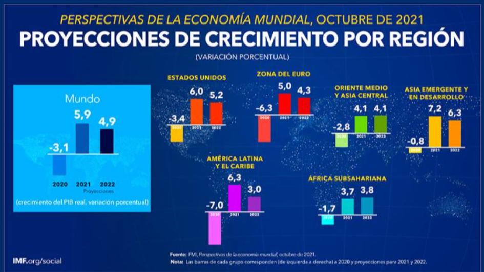 Crecimiento de la economía peruana será de 10% este año, proyectó el FMI
